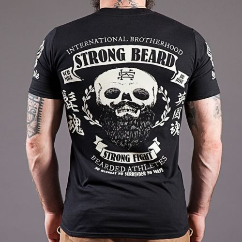 Scramble Strong Beard T-Shirt
