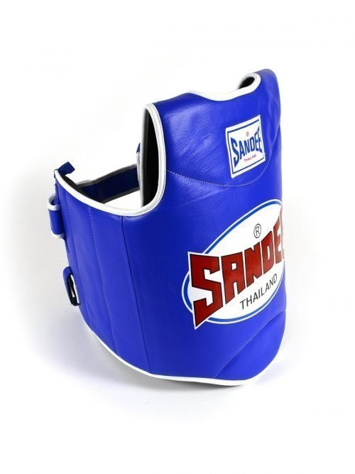 sandee authentic body shield blue white - boxing body protectors