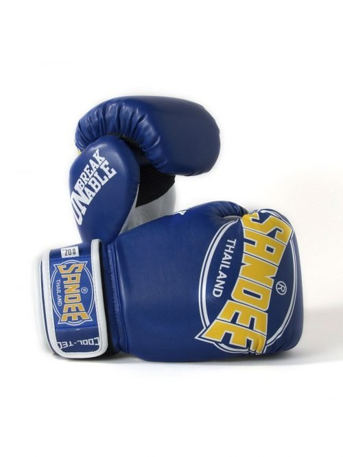 Sandee Kids Cool-Tec Boxing Gloves Blue Yellow