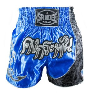 Sandee Unbreakable Thai Shorts Royal Blue