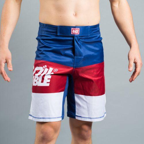 scramble rwb shorts - bjj shorts