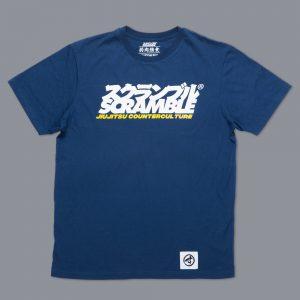 Scramble Jiu-Jitsu Counterculture T-Shirt Navy