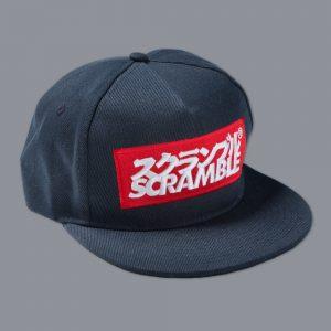 Scramble Logo Snapback Navy
