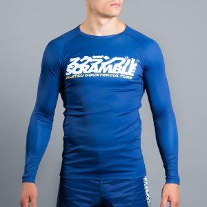 Scramble Roundel Rash Guard in Blue