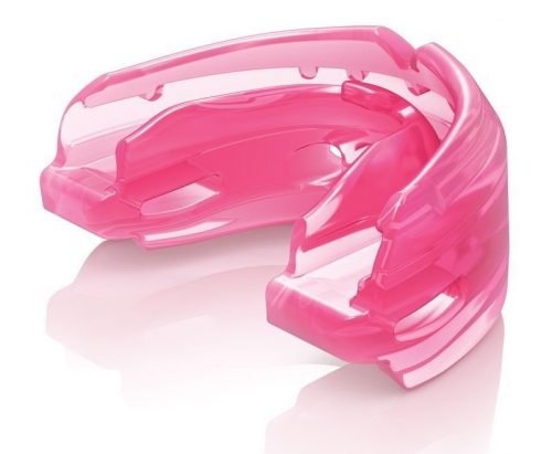 Shock Doctor Double Braces Mouth Guard Pink
