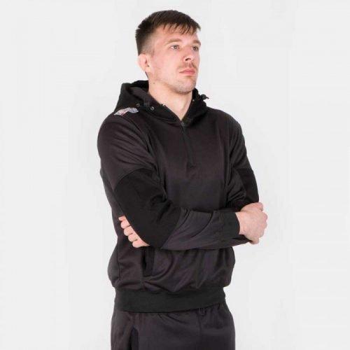 Tatami Athletic Pearl Weave Tracksuit in Black