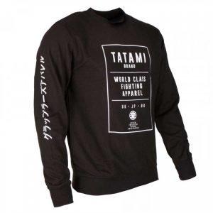 Tatami Brand Sweat Shirt Black