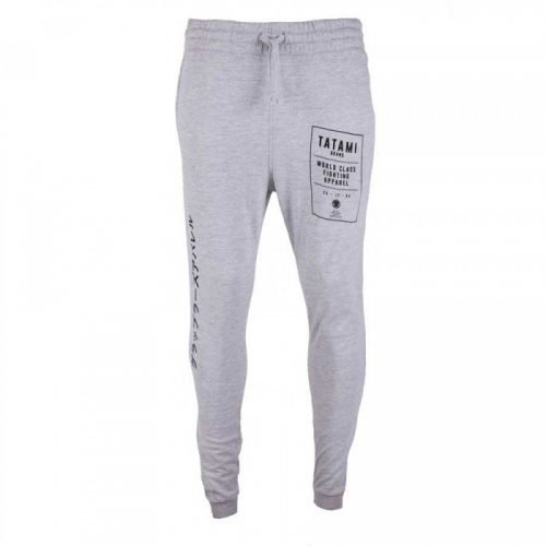 Tatami Brand Tapered Joggers Grey