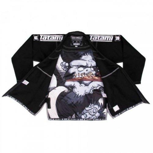 Tatami Chess Gorilla Limited Edition BJJ Gi in Black