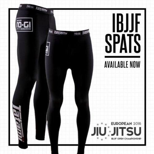 Tatami IBJJF Legal Spats in Black