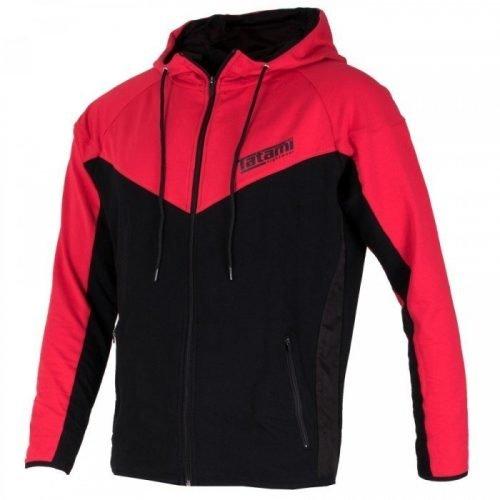 Tatami Ignite Athletic Hoodie Red Black
