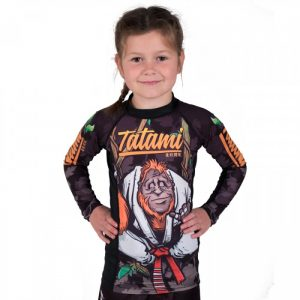 Tatami Hang Loose Orangutang Kids Rash Guard