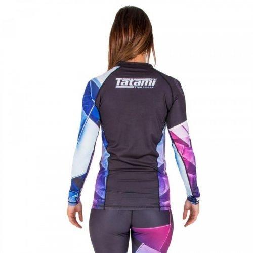 Tatami Ladies Essentials Prism Rash Guard Black