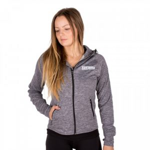 Tatami Ladies Zip Up Track Jacket in Grey