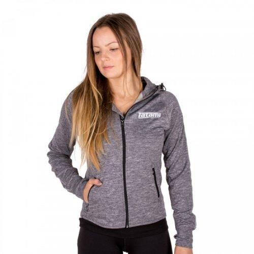 Tatami Ladies Zip Up Track Jacket in Grey