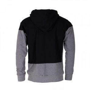 Tatami Monochrome Athletic Hoodie Grey Black