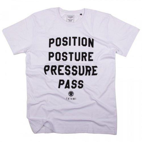 Tatami Pressure Pass T-Shirt White