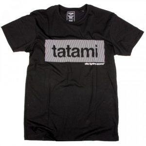 Tatami Wave T-Shirt Black