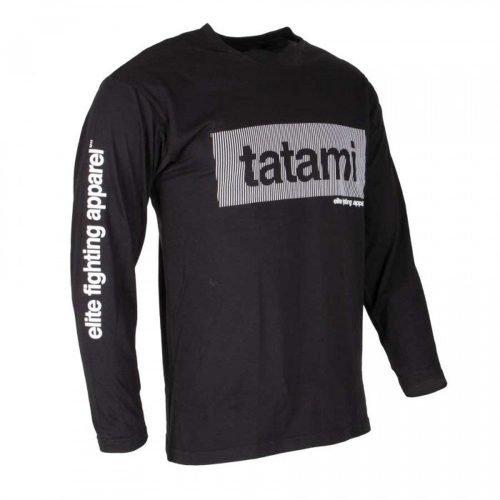 Tatami Wave Long Sleeve T-Shirt Black