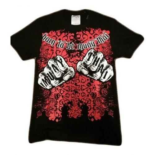 Muay Thai Premium Knuckles Design T-Shirt