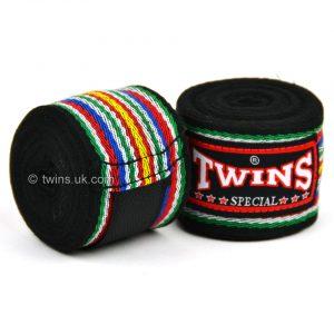 Twins Handwraps 5m Black CH-2