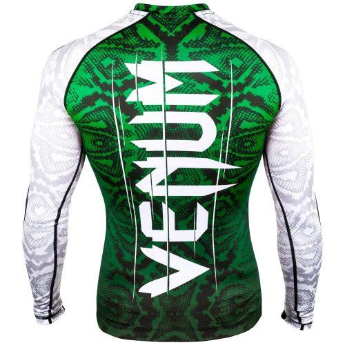 Venum Amazonia 5.0 Rash Guard in White Green
