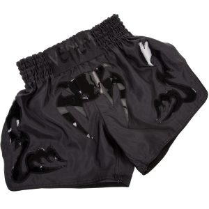Venum Muay Thai Shorts Bangkok Inferno in Matte Black