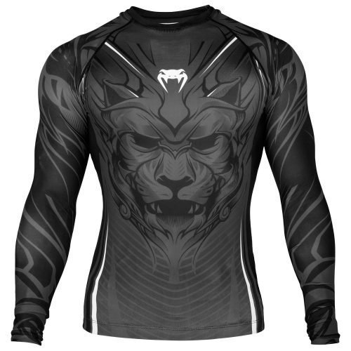 Venum Bloody Roar Rash Guard in Grey