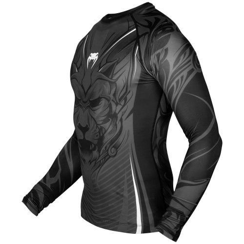 Venum Bloody Roar Grey Rash Guard