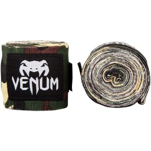 Venum Kontact Boxing Hand Wraps Forest Camo 4M