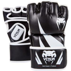Venum Challenger MMA Gloves in Black White
