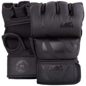 Venum Challenger MMA Gloves in Matte Black