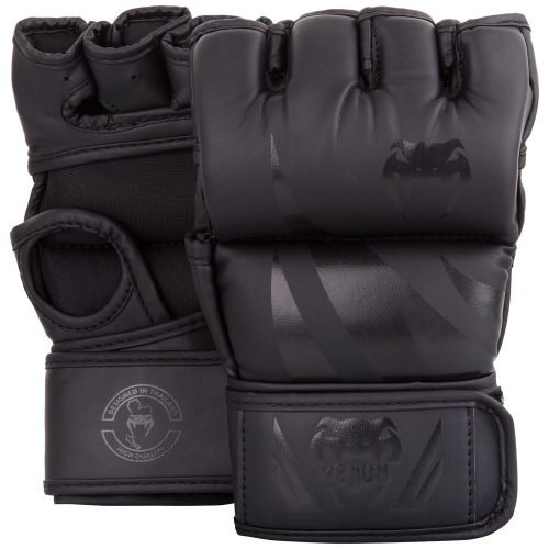 Venum Challenger MMA Gloves without Thumb Matte Black