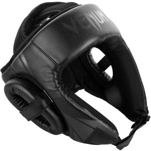 Venum Challenger Open Face Head Guard in Black