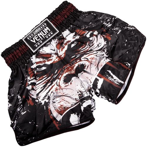 Venum Gorilla Muay Thai Shorts Black White