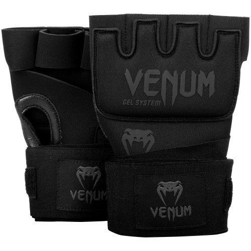 Venum Kontact Gel Adult Hand Wraps in Black