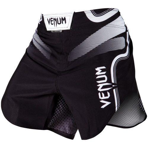 Venum Tempest 2.0 Fight Shorts Black White