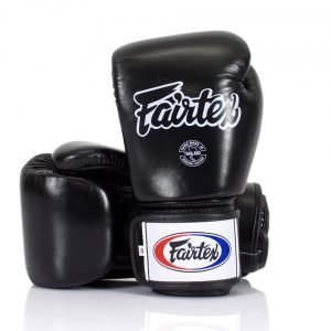 Fairtex BGV1-B Black Breathable Gloves