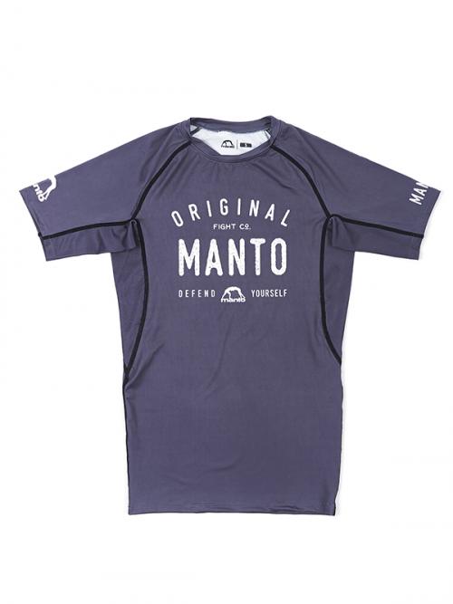 Manto Old School Rash Guard Grey