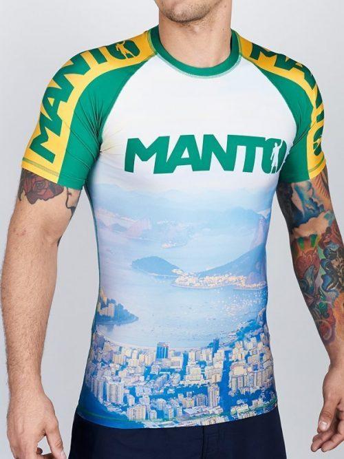 Manto Rio Short Sleeve Rash Guard