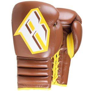 Revgear S4 Professional Boxing Gloves Sparring Authentic Brown