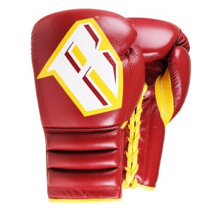 Revgear S4 Professional Boxing Gloves Sparring Classic Red