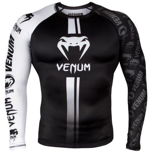 Venum Logo Rash Guard in Black