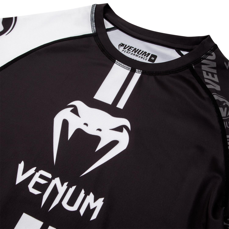 venum logo rash guard in black minotaur fight store
