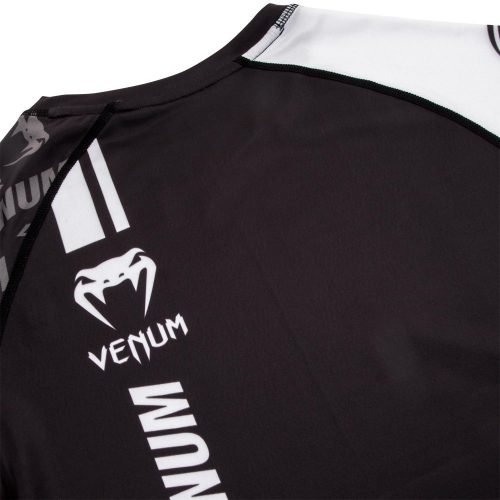 Venum Logos Rash Guard Black