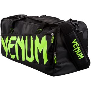 Venum Sparring Bag Holdall Black Neo Yellow