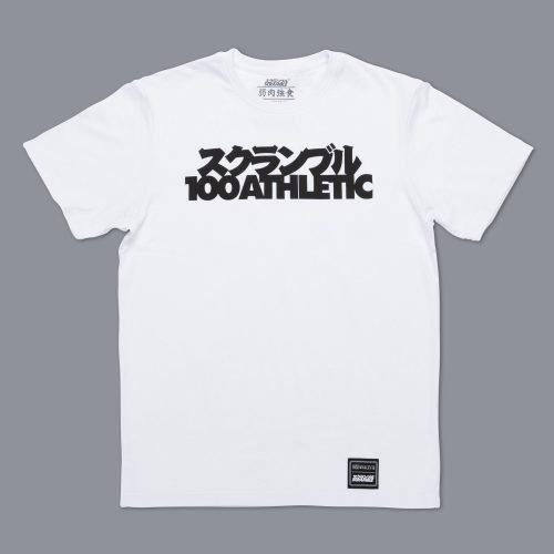 Scramble X 100Athletic White T-Shirt