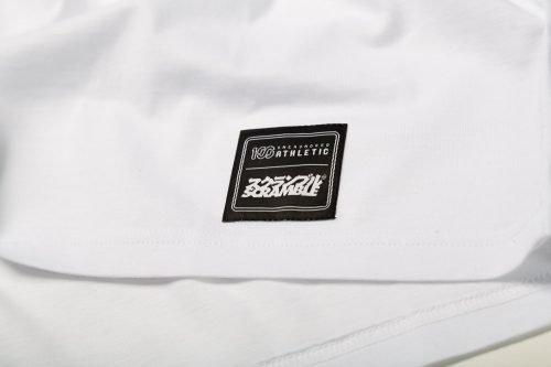 SCRAMBLE X 100ATHLETIC TEE WHITE1