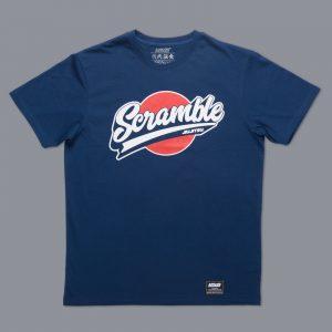 Scramble Sport Logo T-Shirt in Navy