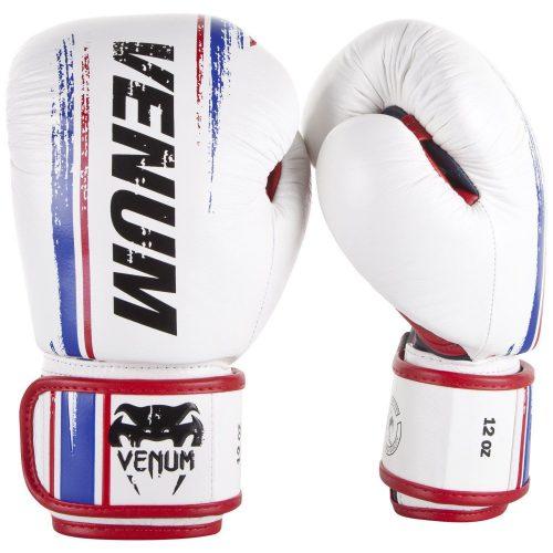 Venum Bangkok Spirit White Nappa Leather Boxing Gloves